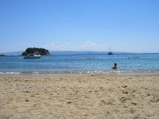 Skiathos, Greece: Troulos beach
