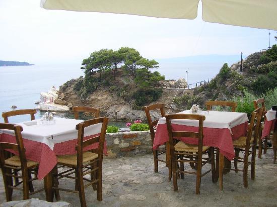 Skiathos, Grecia: The Plakes taverna