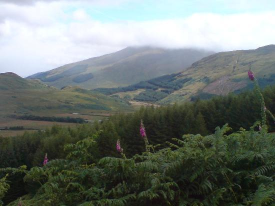 Ben More Lodge Hotel: walking back from Tyndrum
