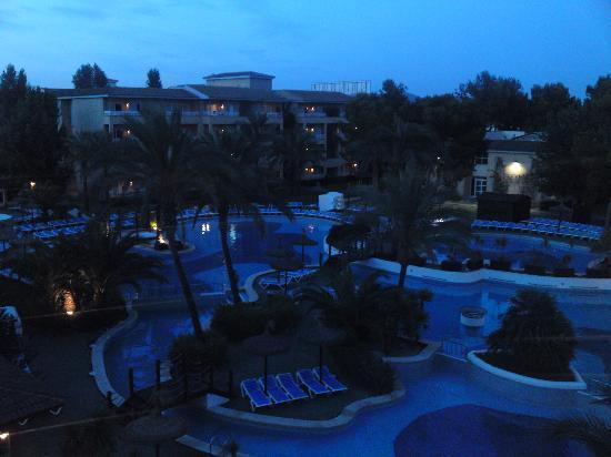 Prinsotel La Dorada: view from balcony