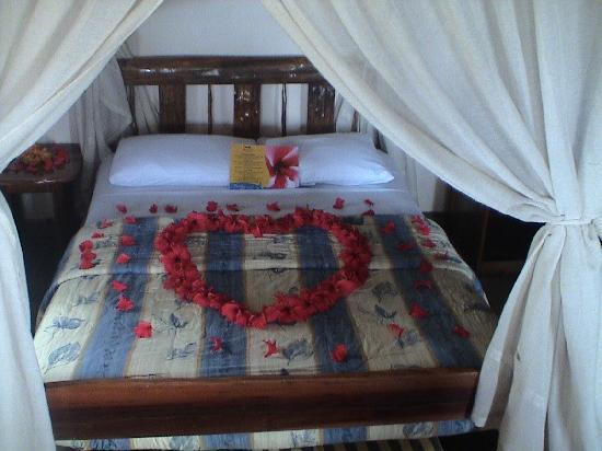 Alandaluz Hosteria y Pueblo Ecologico : decoracion luna de miel
