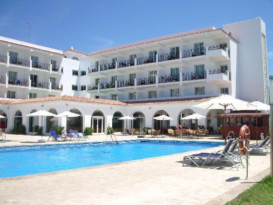 Hipotels Hotel Flamenco Conil: Vista desde la piscina
