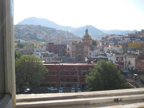 Meson de la Fragua: View from our window