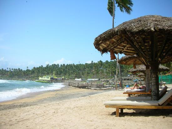The Leela Raviz Kovalam Private Beach