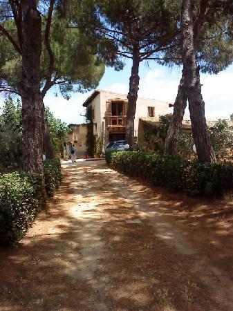 Entrance to Villa Mimosa