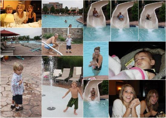 Lansdowne Resort and Spa: family collage at Lansdowne