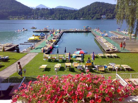 Sankt Kanzian, Oostenrijk: Badesteg