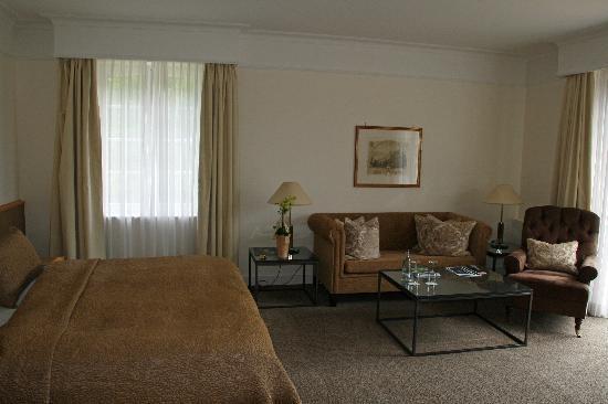 Schlosshotel Buehlerhoehe: Our superior room