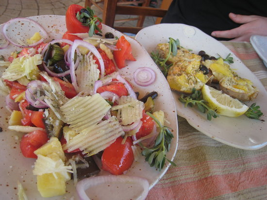 Kaliviani, Grecia: plats savoureux