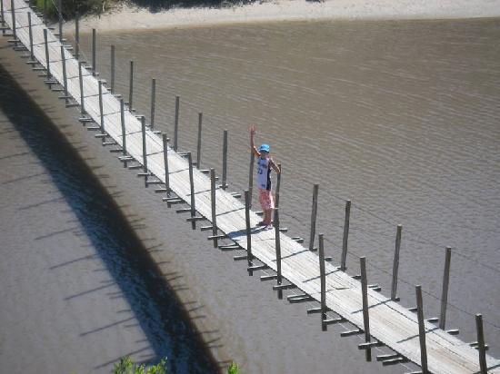 Hotel Parque Oceanico: Bridge