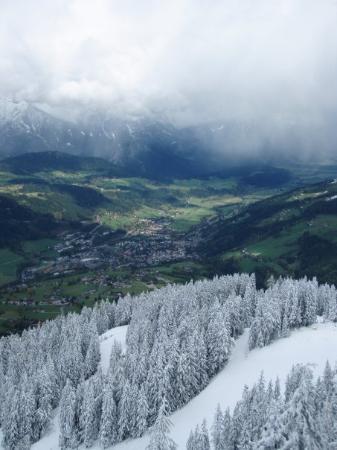 Bird's Eye View of my little town of Schladming, Austria...
