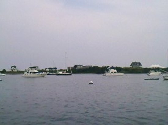 Great Salt Pond: Block Island Harbor in the early evening. On this evening is was really calm and quiet.