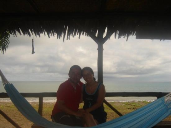 Nuqui, Colombia: Mivi y yo felices!!