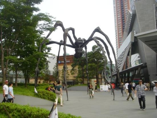 Mori Art Museum : i love this spider