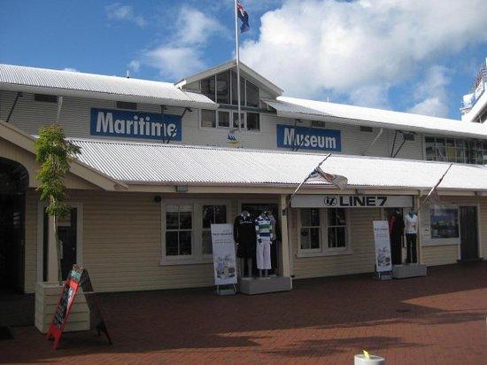 Museo Marítimo Voyager de Nueva Zelanda: de Maritime Museum