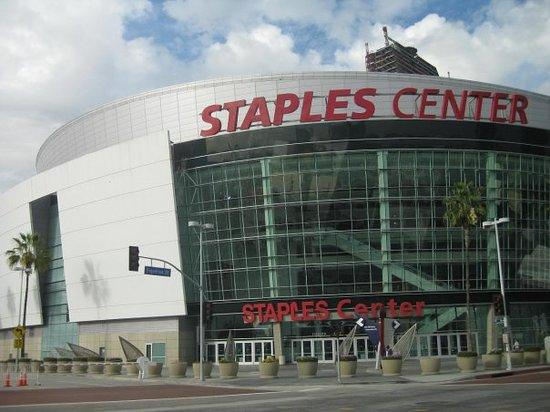 Staples Center : Staples Ctr, where LA Lakers fight for NBA title