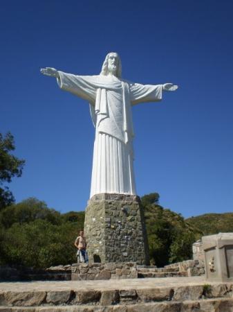 La Cumbre, Argentina: Climbed the monument