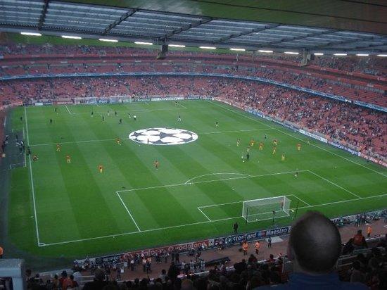 Emirates Stadium: UEFA Champions League
