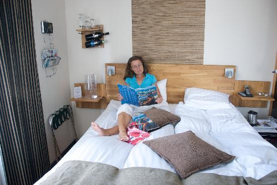 "Huskvarna Stadshotel: One of the smallest rooms called ""Sovrummet"""