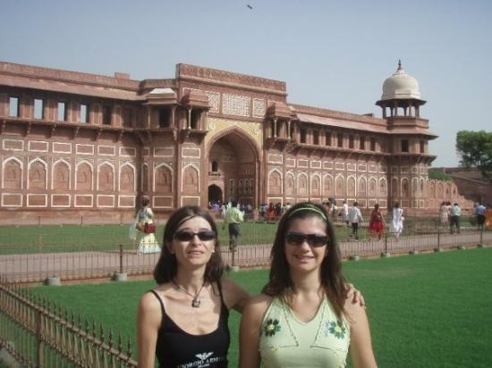 อินดอร์, อินเดีย: el fuerte rojo de Agra