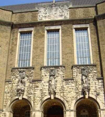 Maastricht, The Netherlands: Nice architecture on a student building.