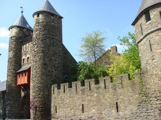 Maastricht, The Netherlands: Hell's gate is part of the city wall built in the 1200s.