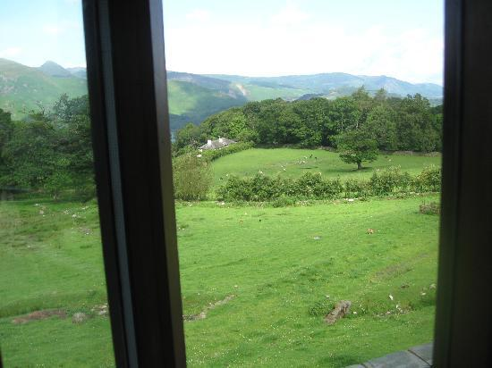 Ashness Farm: View from Catbells en-suite room