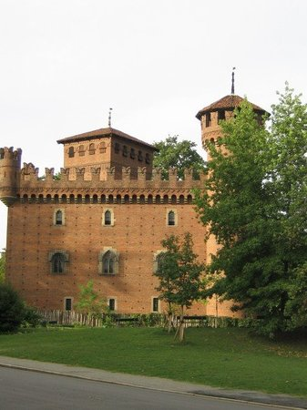 Borgo Medievale: Outside of the Medieval town buuilt in 1884