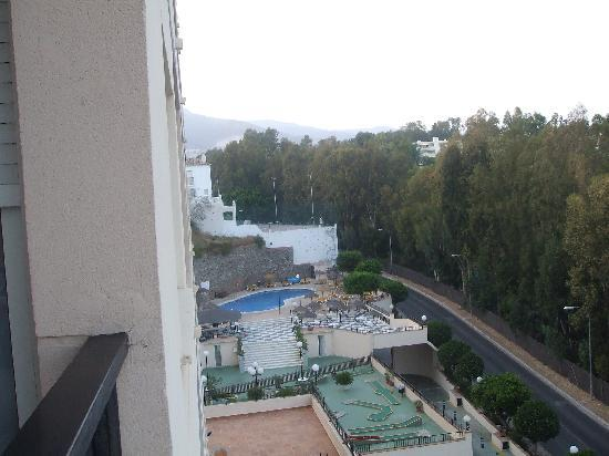 First Flatotel Internacional : The pool from our balcony