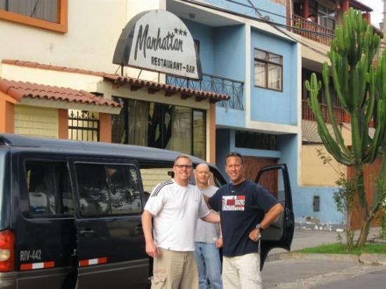 Manhattan Inn Airport Hotel: First night, in Lima