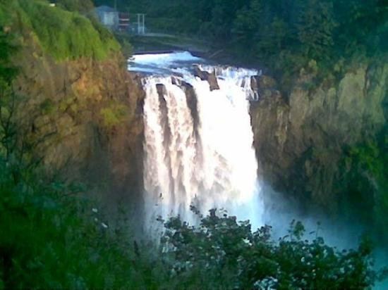 Snoqualmie Falls, July 4th, 2008