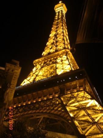 Eiffel Tower Restaurant at Paris Las Vegas: Eiffel Tower Restaurant