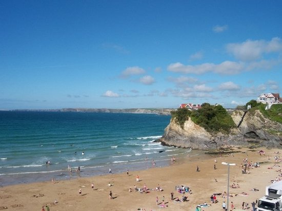 Ньюквей, UK: Main beach Newquay