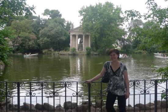 วิลลาบอร์กีส: Villa Borghese Gardens