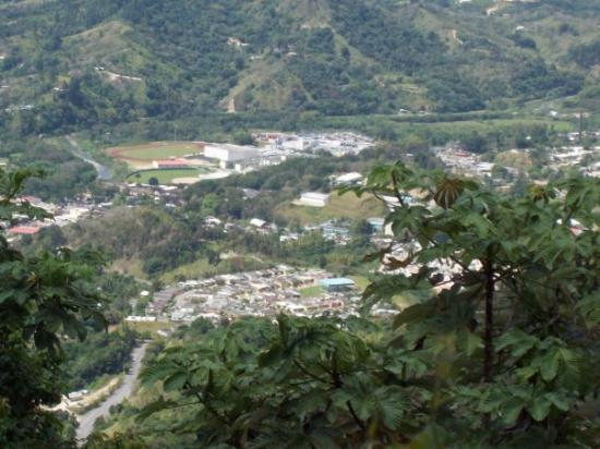 Jayuya, Puerto Rico: Vista desde El Cerro Morales