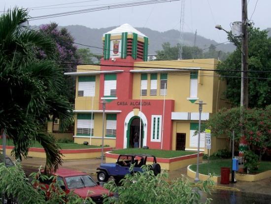 Jayuya, เปอร์โตริโก: Casa Alcaldia