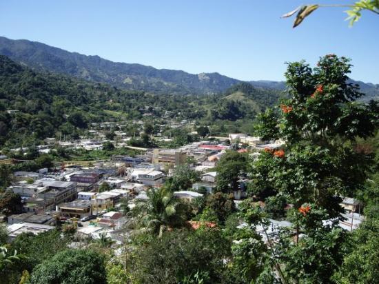 Jayuya, Puerto Rico: Vista desde Bo Rio Grande