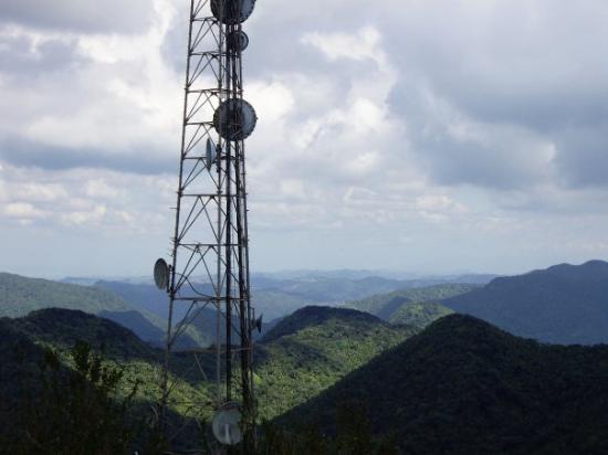 Jayuya, Пуэрто-Рико: Vista desde El Cerro Punta