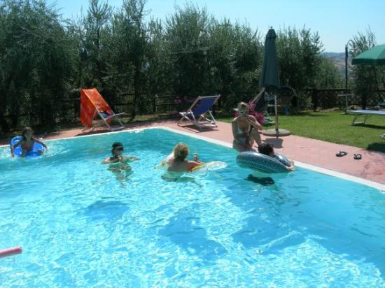 Castelfiorentino, Italia: Pool area