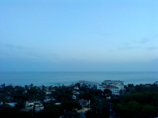 มาร์เบลลา, สเปน: Fantastic view from our apartment in Marbella