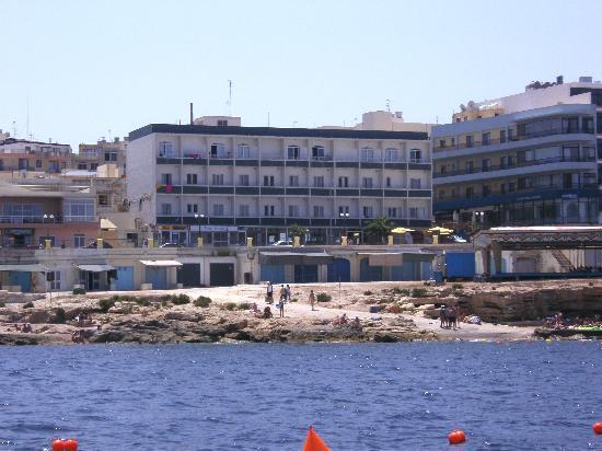 Seaview Hotel: the hotel from the sea