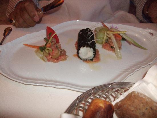 Gargnano, Italy: Fabulous seabass!