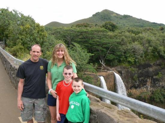 Lihue, ฮาวาย: Fantasy Island water fall on the Island of Kauai.