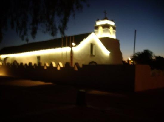 Church of San Pedro de Atacama: Iglesia de San Pedro de noche