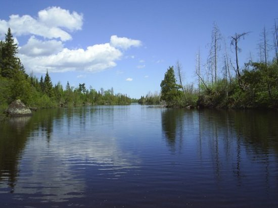 Poplar lake, off the Gunflint Trail road.