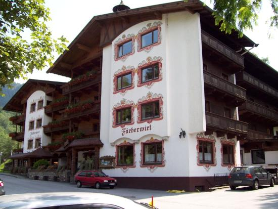 Wildschönau, Österreich: Très bel hotel