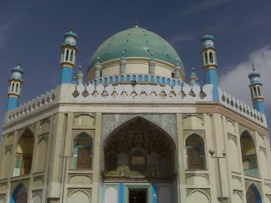 Ahmad Shah Abdali's Mazar in Kandahar City