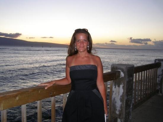 Fish Market Maui : Me in Lahaina