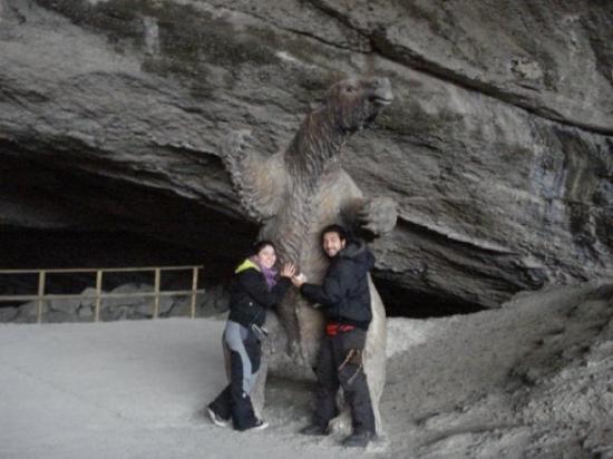 Cueva del Milodon: Miloooooo, tan tierno el