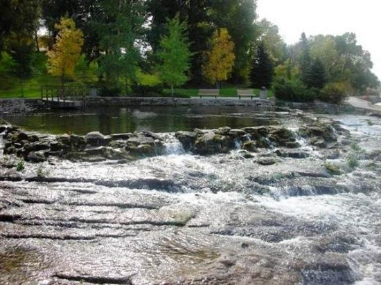 Giant Springs State Park: Giant Springs itself in Great Falls, MT, United States